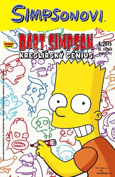 Bart Simpson 8/2015: Kreslířský génius