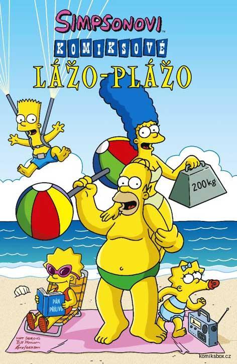 Simpsonovi: Komiksové lážo plážo