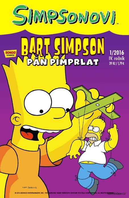 Bart Simpson 1/2016: Pán Pimprlat