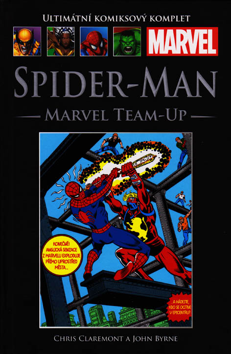 Spider-Man: Marvel Team-Up (92) - hřbet č. 118