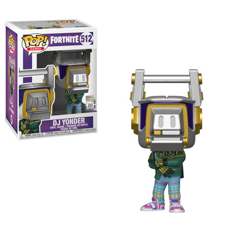Funko POP Games: Fortnite  - DJ Yonder