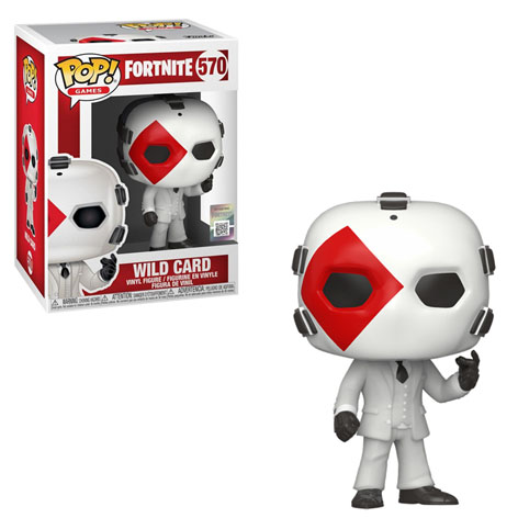 Funko POP Games: Fortnite  - Wild Card (Diamond)