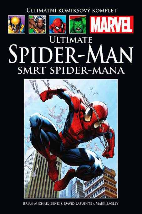 Ultimate Spider-man: Smrt Spider-mana (82) - hřbet č. 73