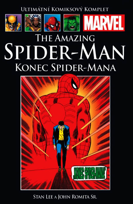The Amazing Spider-man: Konec Spider-mana (87) - hřbet č. 90
