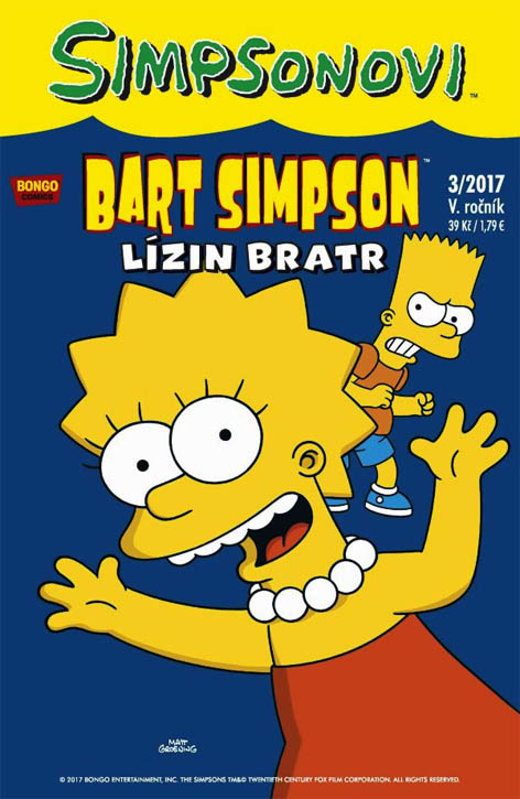 Bart Simpson 3/2017: Lízin bratr