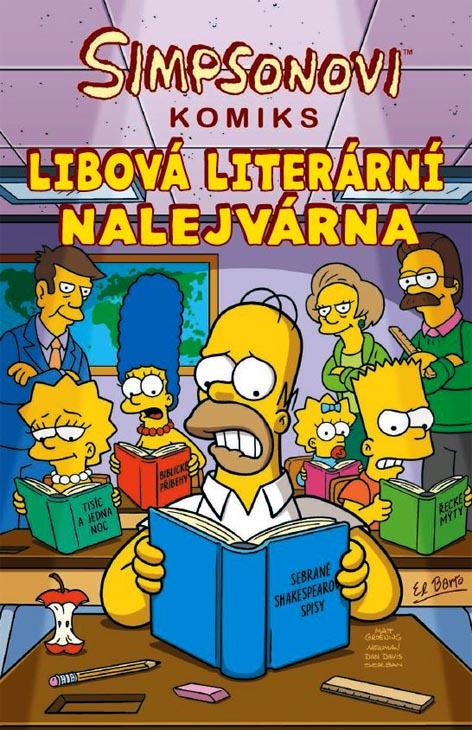Simpsonovi - Libová literární nalejvárna