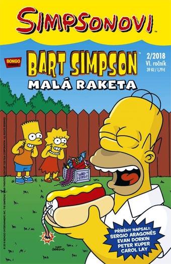 Bart Simpson 2/2018 - Malá raketa
