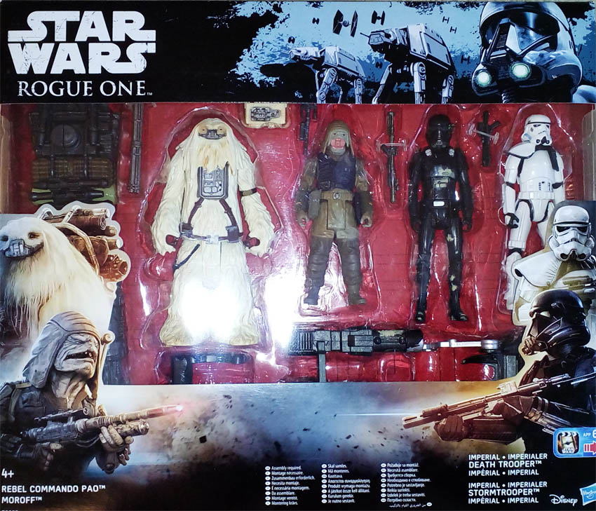 Star Wars Rebel Commando Pao - 4x figurka