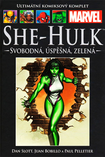 She-Hulk: svobodná, úspěšná, zelená (21) - hřbet č. 30