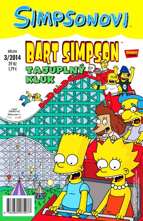 Bart Simspon 7: Tajuplný kluk