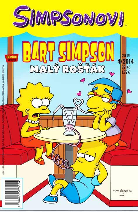 Bart Simpson 8: Malý rošťák