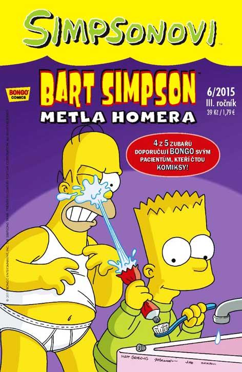Bart Simpson 6/2015: Metla Homera