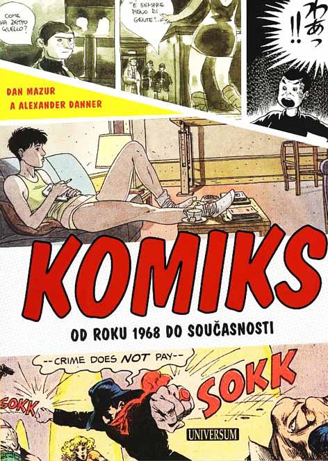 Komiks od roku 1968 do současnosti