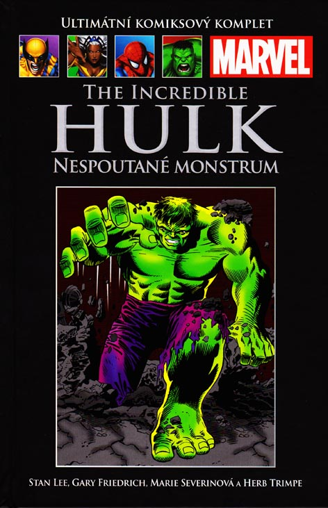 The Incredible Hulk: Nespoutané monstrum (78) - hřbet č. 95